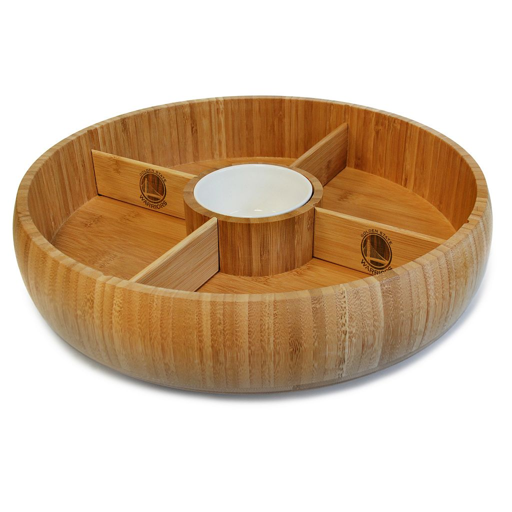 Golden State Warriors Lazy Susan Dip Tray