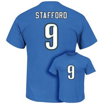 Men's Majestic Detroit Lions Matthew Stafford Eligible Receiver Tee