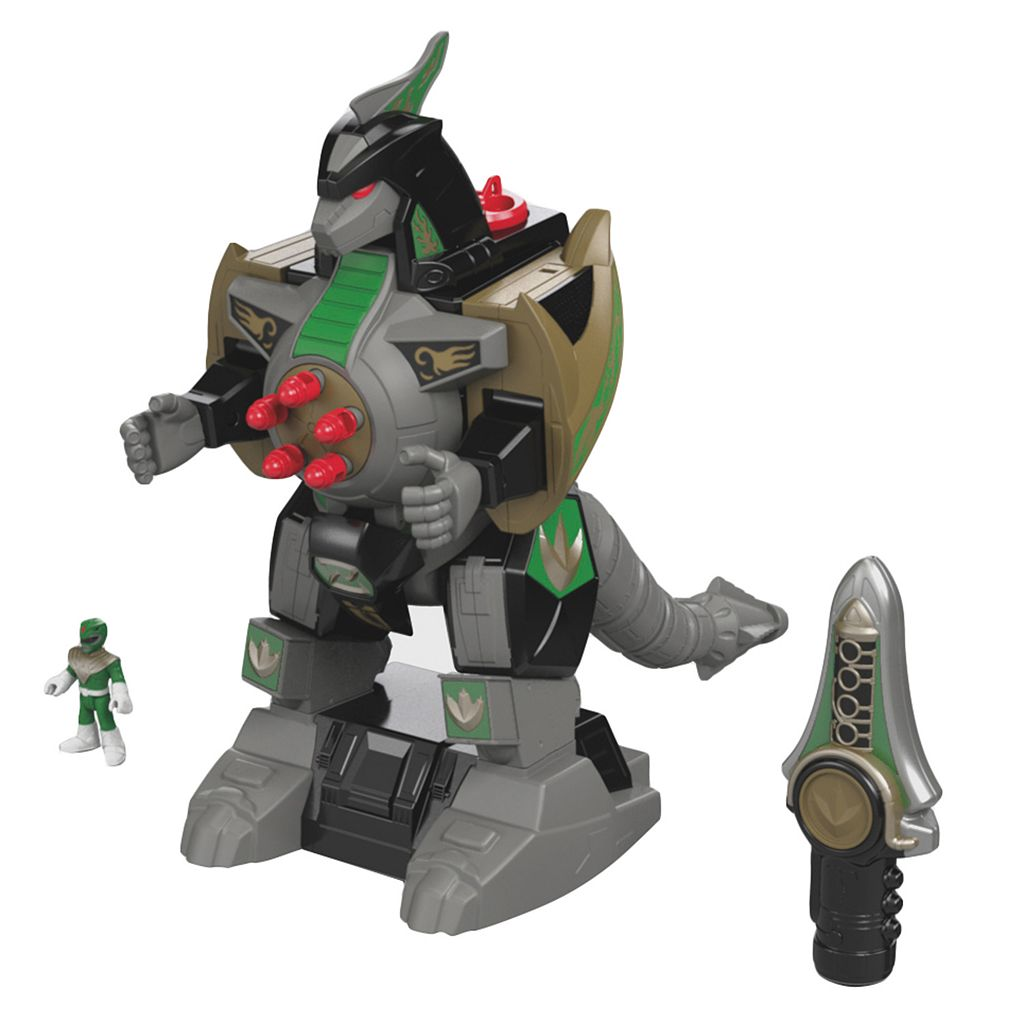 Fisher-Price Imaginext Power Rangers Green Ranger & Dragonzord Remote Control Play Set
