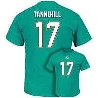 Men's Majestic Miami Dolphins Ryan Tannehill Eligible Receiver Tee