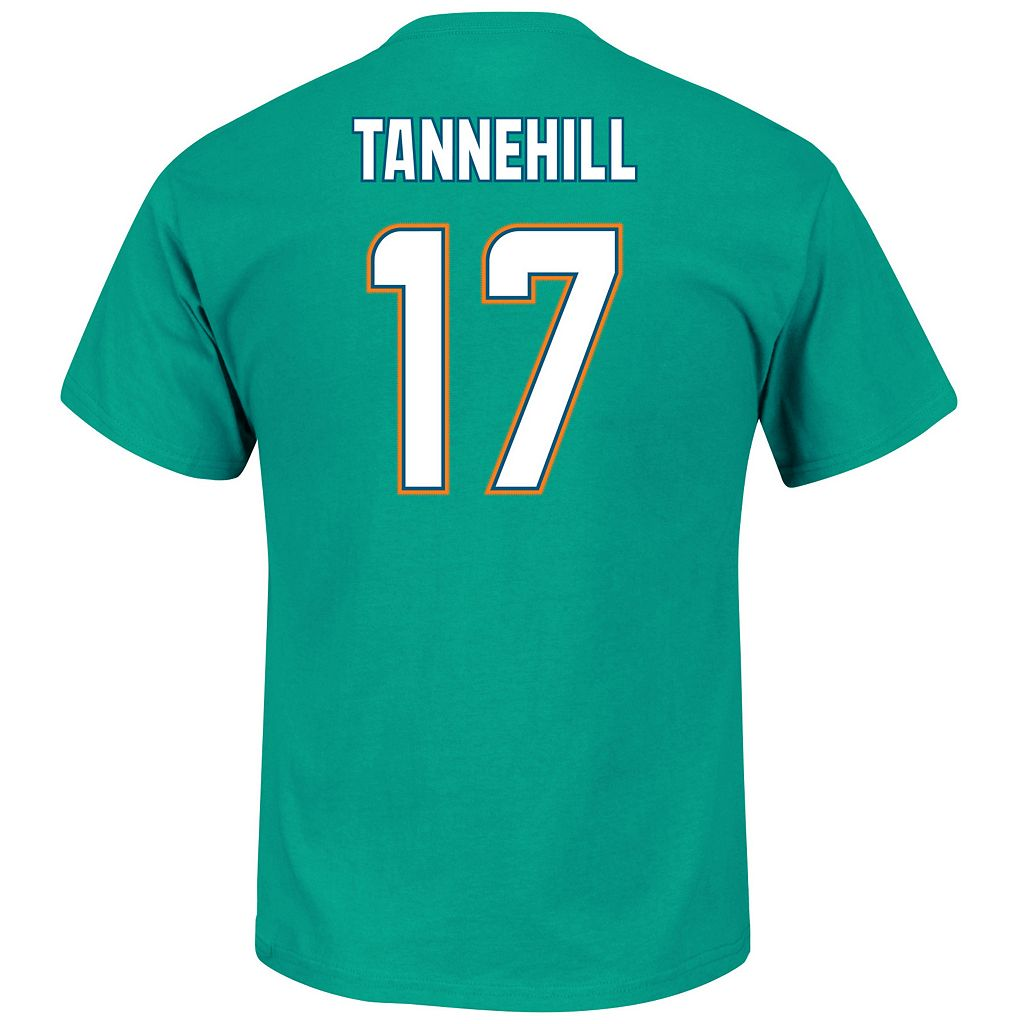 Men's Majestic Miami Dolphins Ryan Tannehill Eligible Receiver Tee