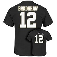 Men's Majestic Pittsburgh Steelers Terry Bradshaw Hall of Fame Eligible Receiver Tee