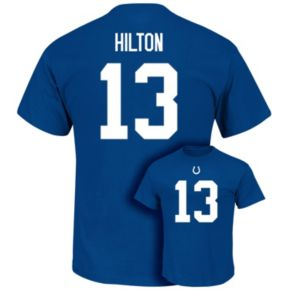 Men's Majestic Indianapolis Colts T. Y. Hilton Eligible Receiver Tee
