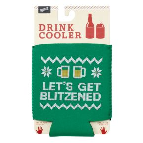 """Let's Get Blitzened"" Drink Coozie by 30 Watt"