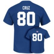 Men's Majestic New York Giants Victor Cruz Eligible Receiver Tee
