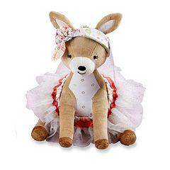 Baby Aspen Flora the Fawn Plush Deer & Tutu Bloomers Gift Set