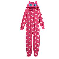 Girls 4-16 Jelli Fish Character One-Piece Pajamas