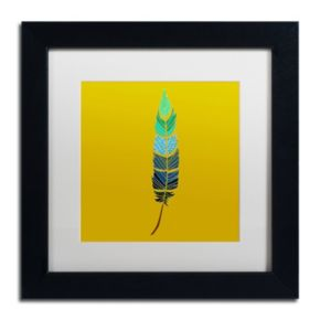 Trademark Fine Art Plume 2 Framed Wall Art