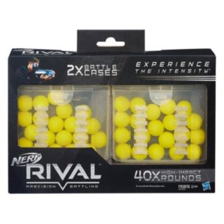 Nerf Rival 20-Round 2-pk. Battle Cases
