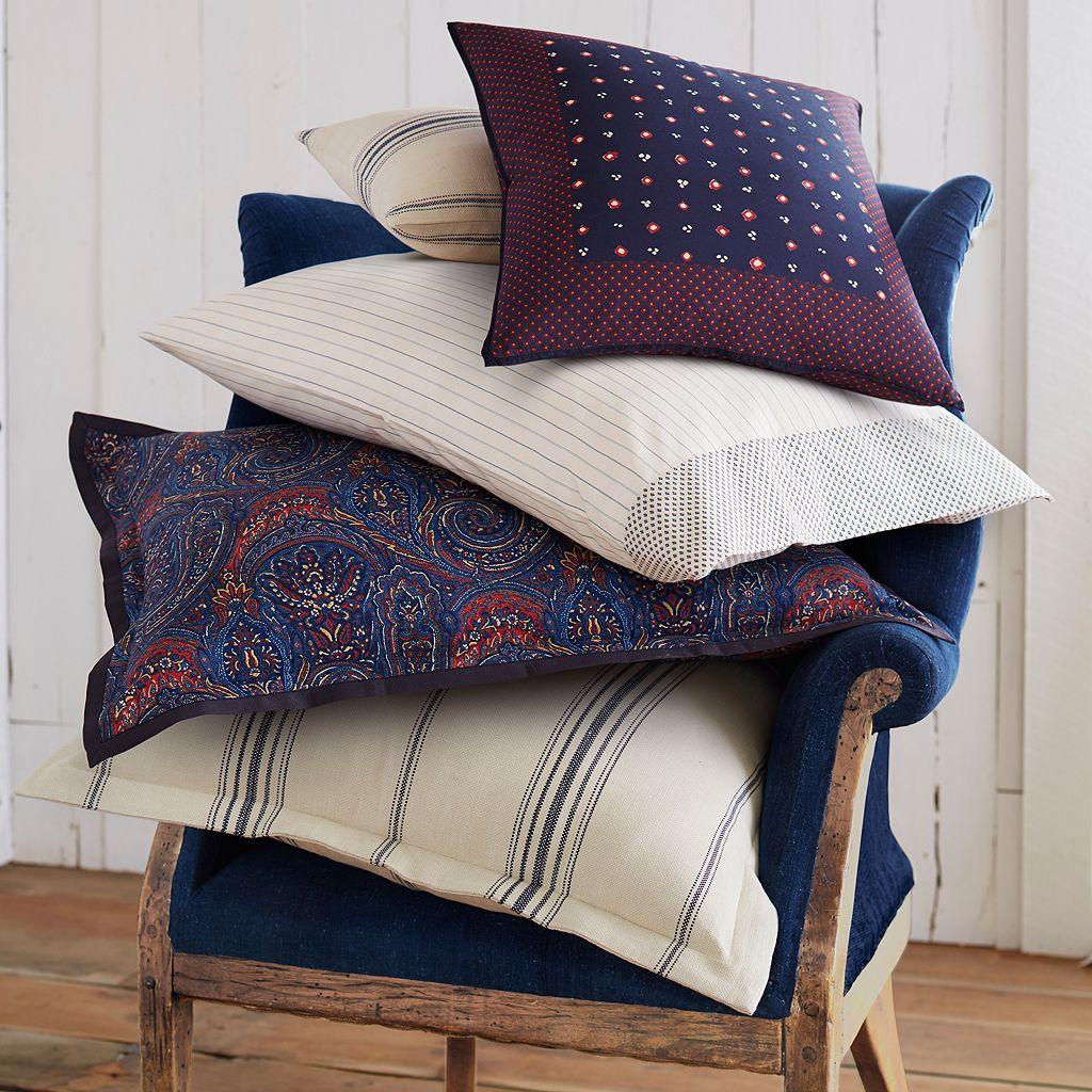 Chaps Indigo Isle Striped Throw Pillow