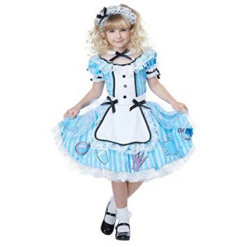 Disney's Alice in Wonderland Kids Costume