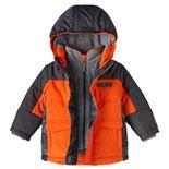 Toddler Boy ZeroXposur Mock-Layered Fleece-Lined Jacket