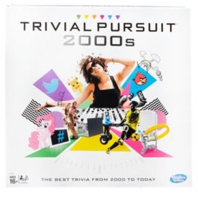 Trivial Pursuit: 2000s Edition Game by Hasbro