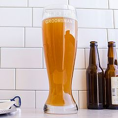 Cathy's Concepts 54-oz. 'Will You Be My Groomsman?' XL Pilsner Glass