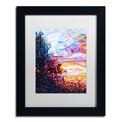 Trademark Fine Art Crescendo Black Framed Wall Art