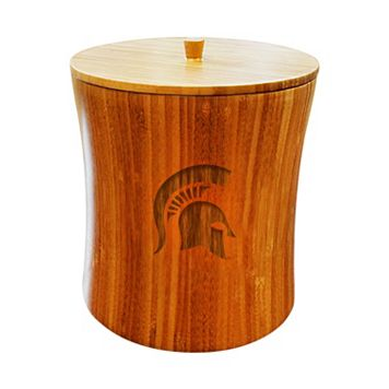 Michigan State Spartans Bamboo Ice Bucket