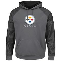 Mens Pittsburgh Steelers Majestic Charcoal Victory Gear VII T-Shirt