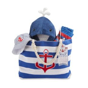 Baby Aspen Fun in the Sun 4-pc. Nautical Canvas Tote Gift Set