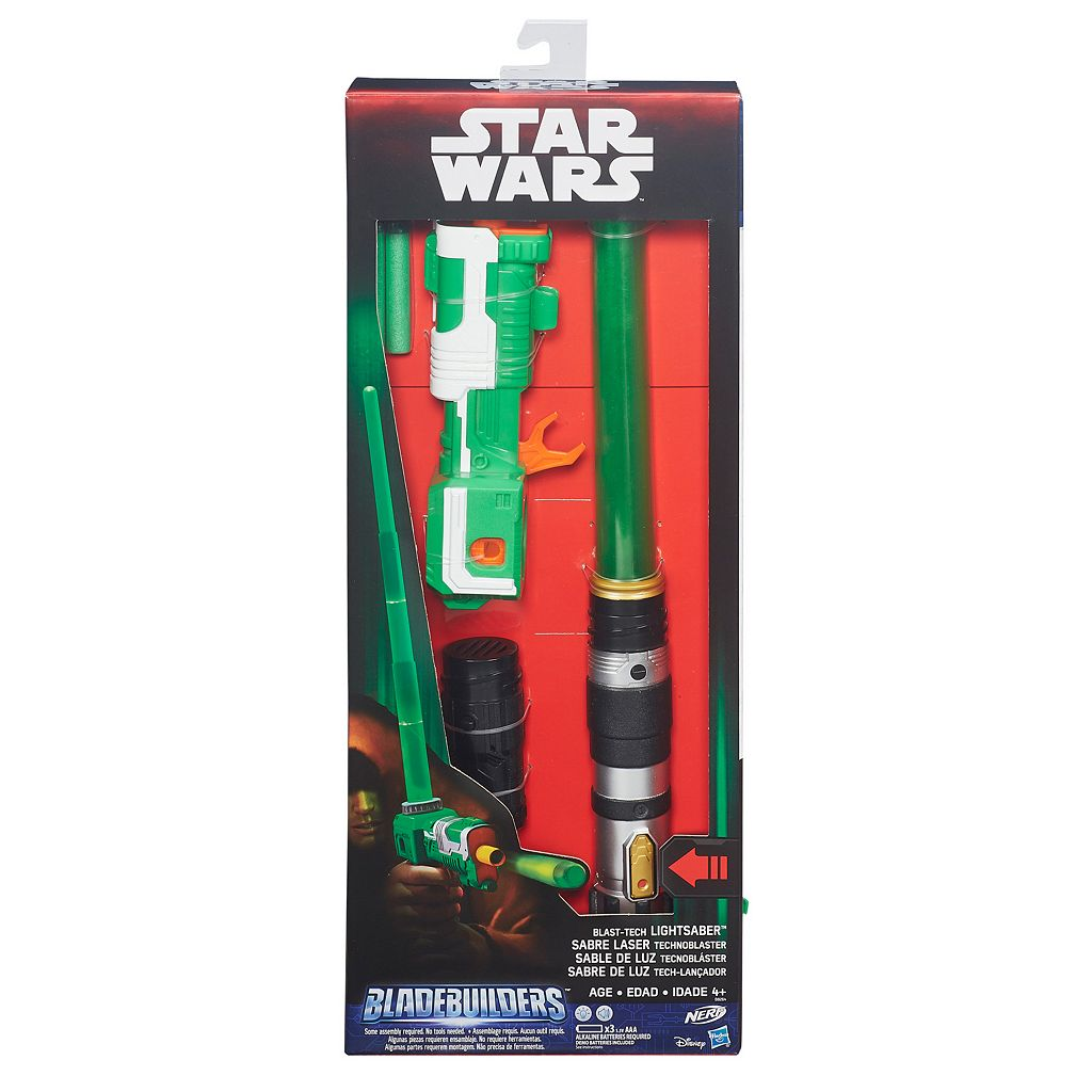 Star Wars BladeBuilders Blast-Tech Lightsaber by Nerf