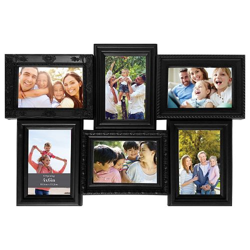 Harbortown Industries Inc. 6-Opening Ornate Collage Frame