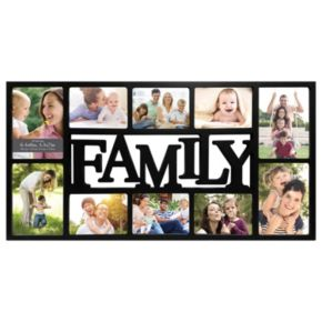 """Harbortown Industries Inc. 10-Opening """"Family"""" Collage Frame"""