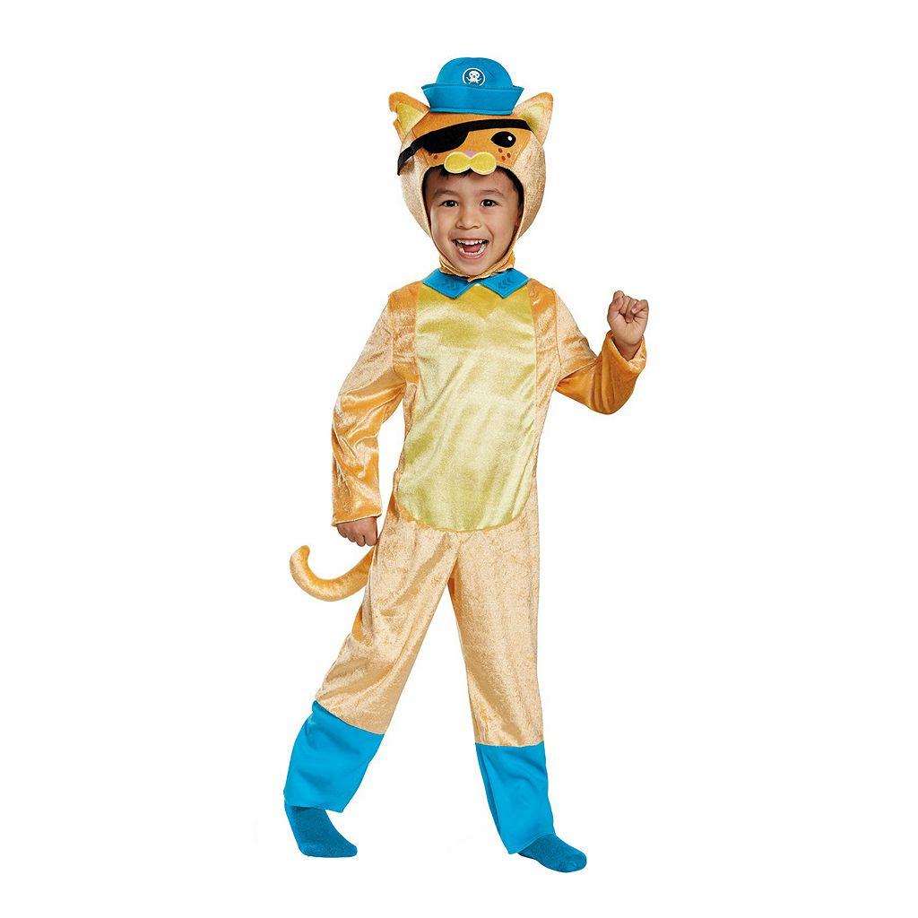 Toddler Octonauts Kwazii Cat Costume