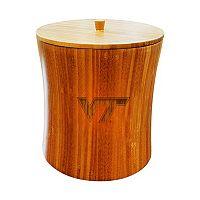 Virginia Tech Hokies Bamboo Ice Bucket