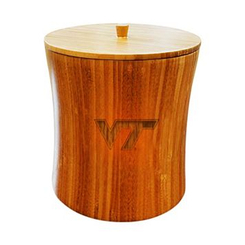 Virginia Tech Hokies Bamboo Ice Bucket