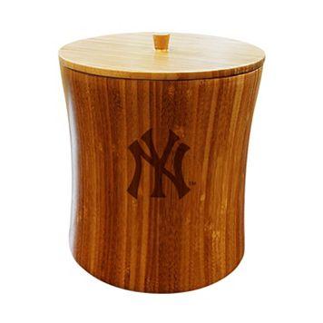 New York Yankees Bamboo Ice Bucket