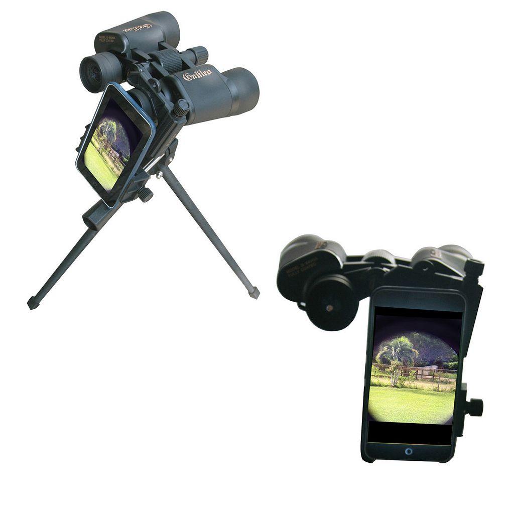 Galileo Telescope, Binocular & Microscope Smartphone Photo Adapter