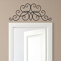 Stratton Home Decor Metal Scroll Wall Decor