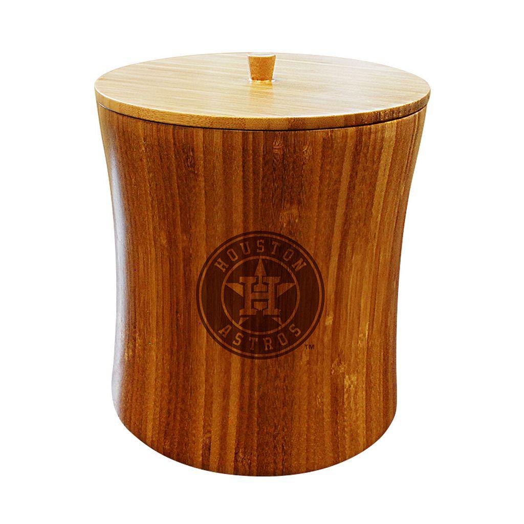 Houston Astros Bamboo Ice Bucket