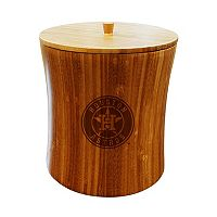 Houston Astros Bamboo Ice Bucket