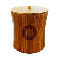 Oakland Athletics Bamboo Ice Bucket