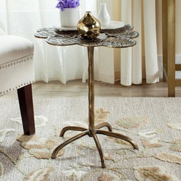 Safavieh Alene Leaf Side Table