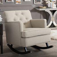 Baxton Studio Bethany Rocking Chair