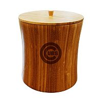 Chicago Cubs Bamboo Ice Bucket