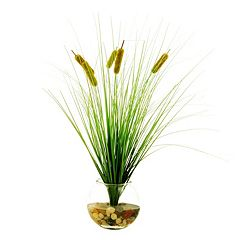 Designs by Lauren Artificial Cattail Plant