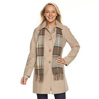 Women's Towne by London Fog Wool Blend Coat