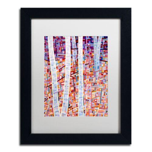 "Trademark Fine Art Mandy Budan ""Incandescence"" Matted Framed Wall Art"