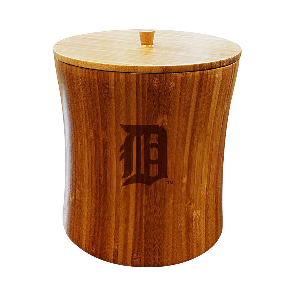 Detroit Tigers Bamboo Ice Bucket