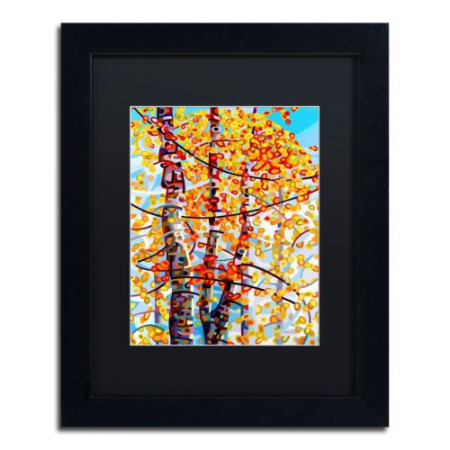 "Trademark Fine Art Mandy Budan ""Panoply"" Matted Framed Wall Art"