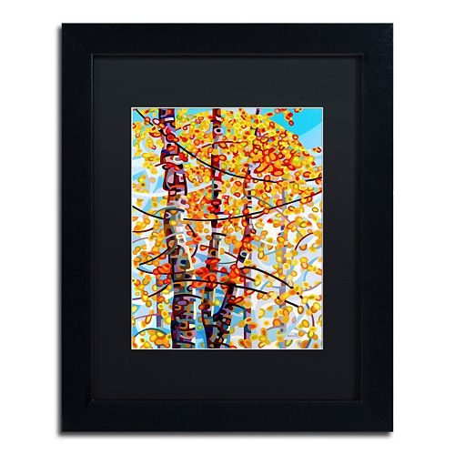 Trademark Fine Art Mandy Budan Panoply Matted Framed Wall Art