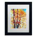 """Trademark Fine Art Mandy Budan """"Panoply"""" Matted Framed Wall Art"""