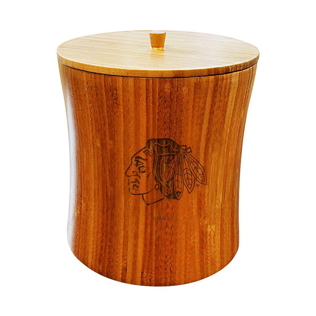 Chicago Blackhawks Bamboo Ice Bucket