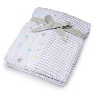 Baby Just Born 2-pk. Print Muslin Blankets