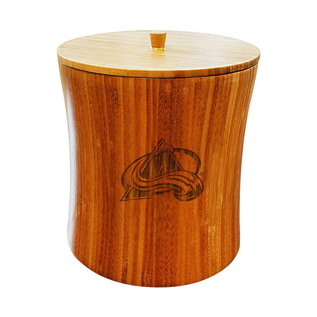 Colorado Avalanche Bamboo Ice Bucket