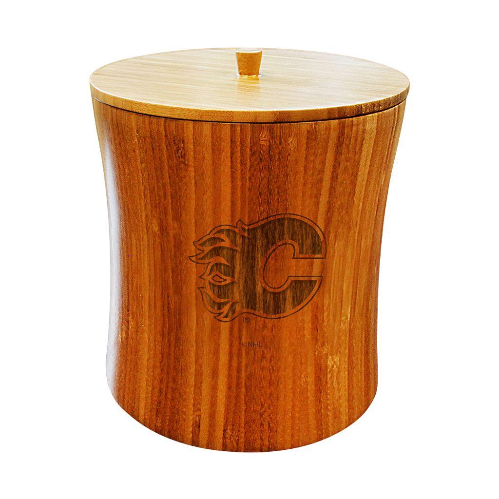 Calgary Flames Bamboo Ice Bucket