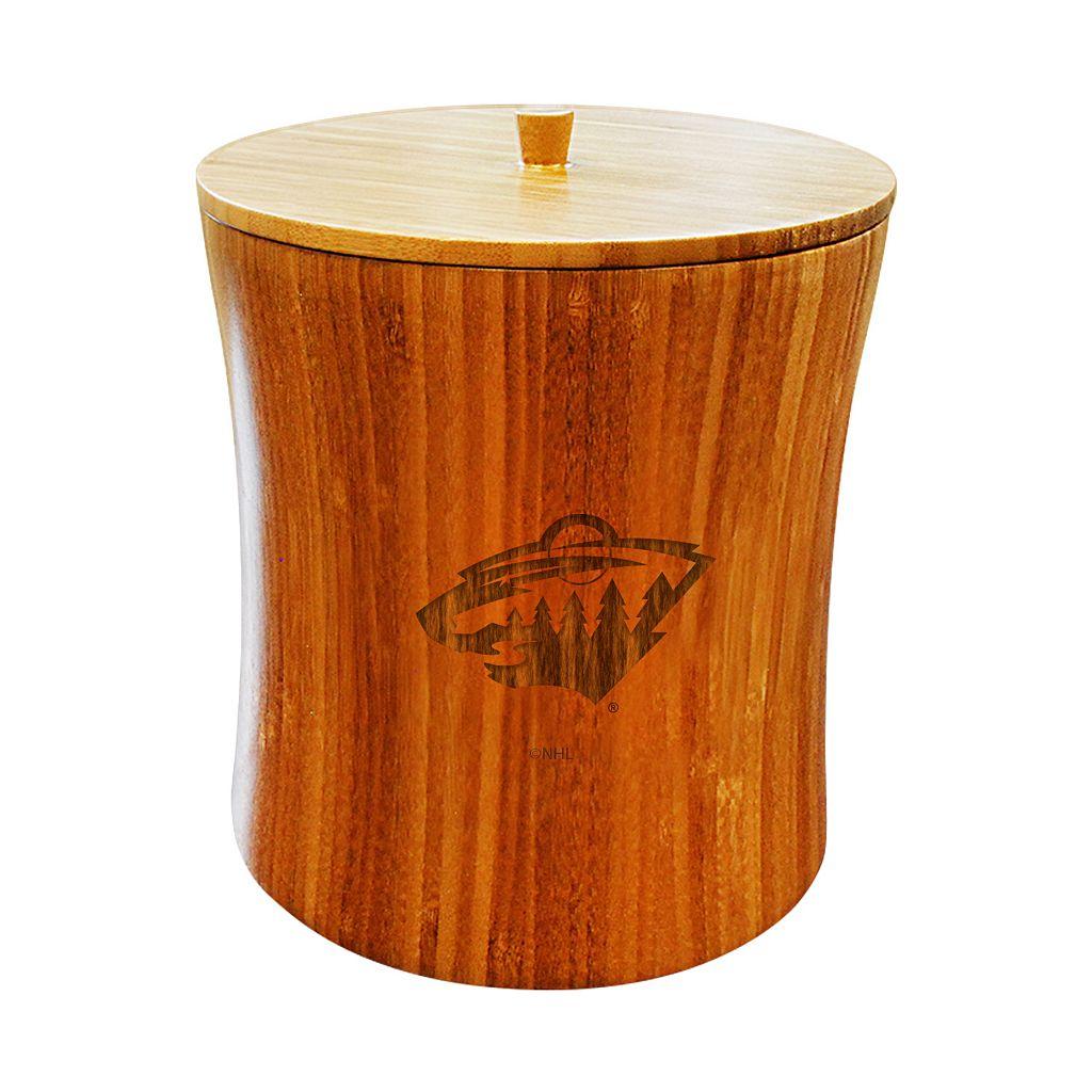Minnesota Wild Bamboo Ice Bucket