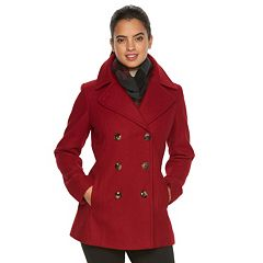 Womens Peacoat Coats &amp Jackets - Outerwear Clothing | Kohl&39s